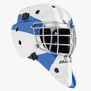 Casque de hockey sur glace 05 3d model
