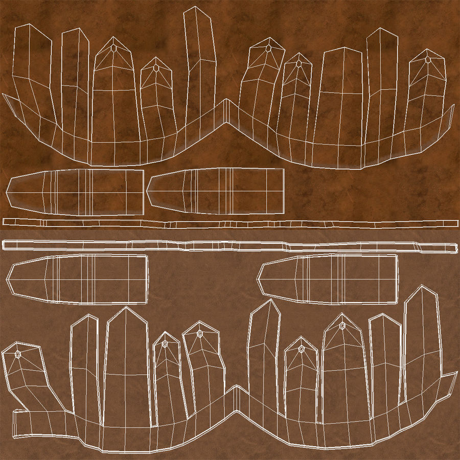 Casco Morion a pettine spagnolo royalty-free 3d model - Preview no. 10
