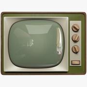 Alter Fernseher 3d model