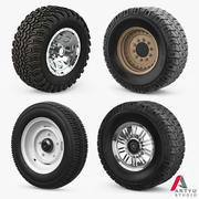 Wheels Set 3d model