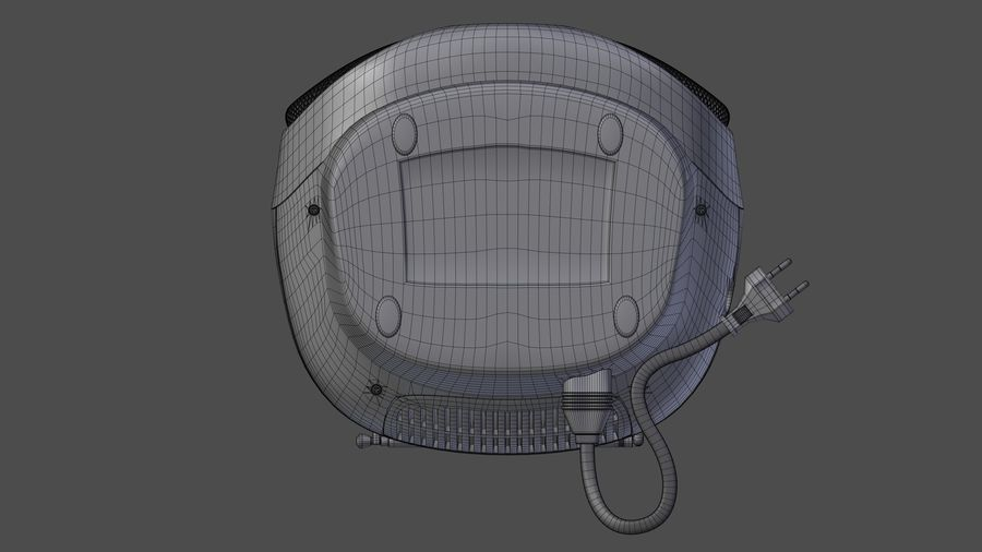 boombox royalty-free 3d model - Preview no. 14