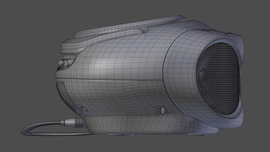 boombox royalty-free 3d model - Preview no. 12