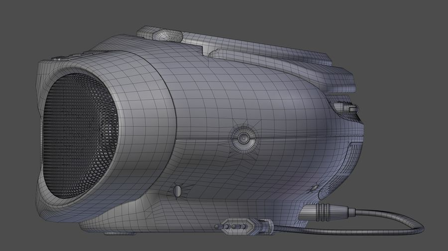 boombox royalty-free 3d model - Preview no. 8
