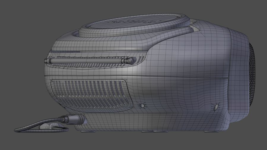 boombox royalty-free 3d model - Preview no. 11