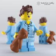 Figura de Lego Sleepyhead 3d model