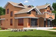 Casa sul tetto vittoriana 3d model