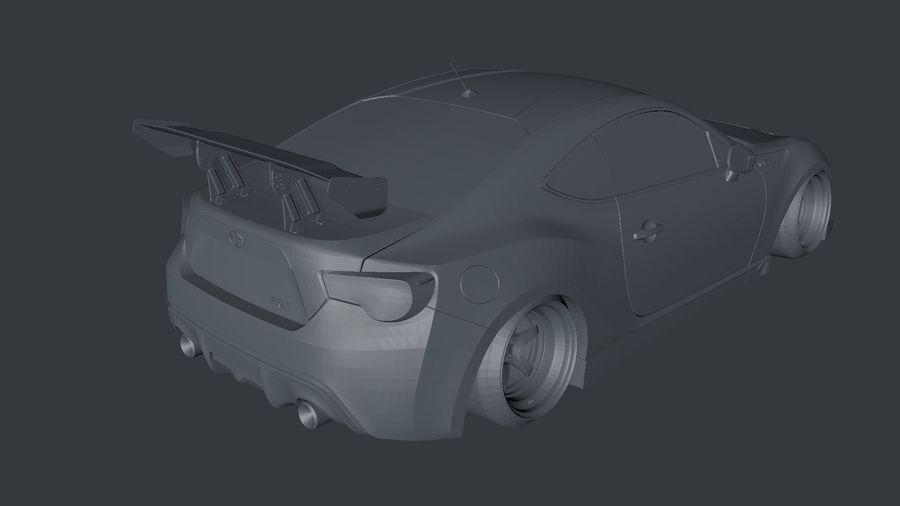 Samochód sportowy royalty-free 3d model - Preview no. 2
