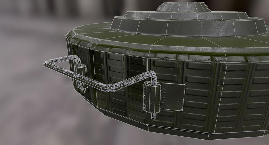 Mina lądowa royalty-free 3d model - Preview no. 7