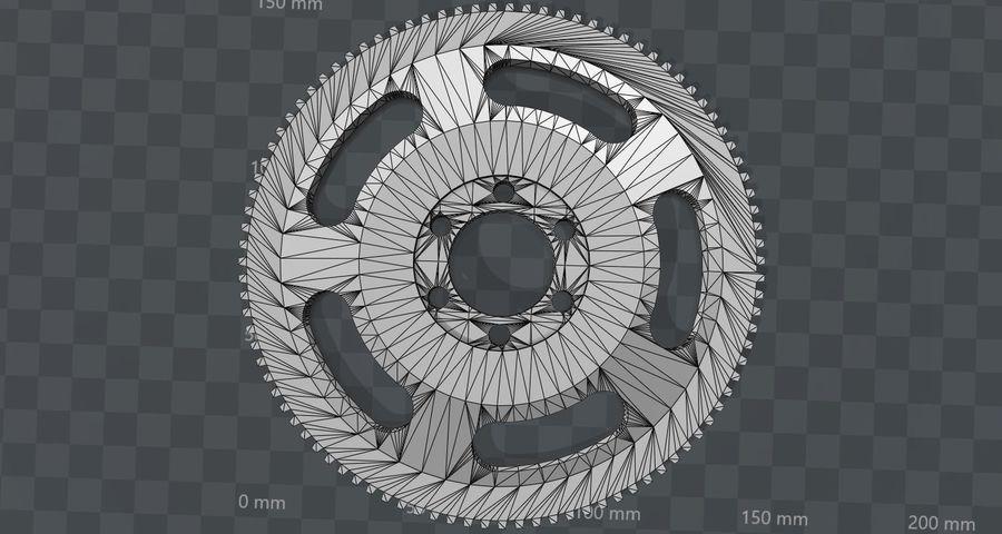 Racing Schwungrad royalty-free 3d model - Preview no. 16