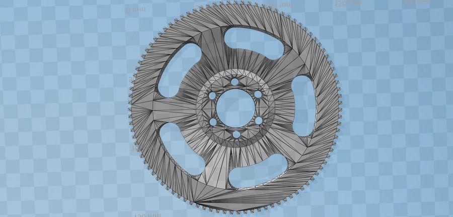 Racing Schwungrad royalty-free 3d model - Preview no. 18