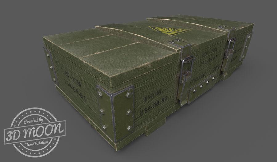 弹药盒 royalty-free 3d model - Preview no. 1