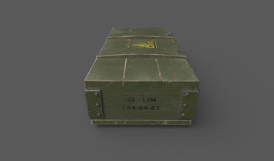 弹药盒 royalty-free 3d model - Preview no. 2