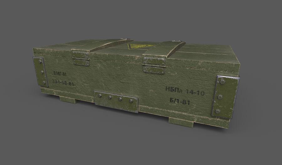 弹药盒 royalty-free 3d model - Preview no. 3