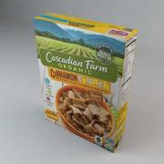 Cascadian Farms Cinnamon Crunch Cereal 3d model