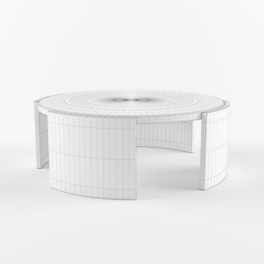 Środkowy stół royalty-free 3d model - Preview no. 4