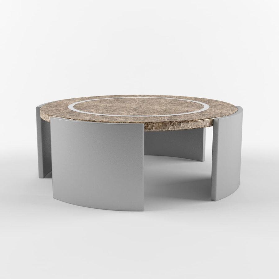 Środkowy stół royalty-free 3d model - Preview no. 3