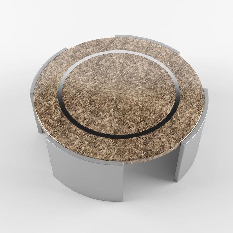 Środkowy stół royalty-free 3d model - Preview no. 5