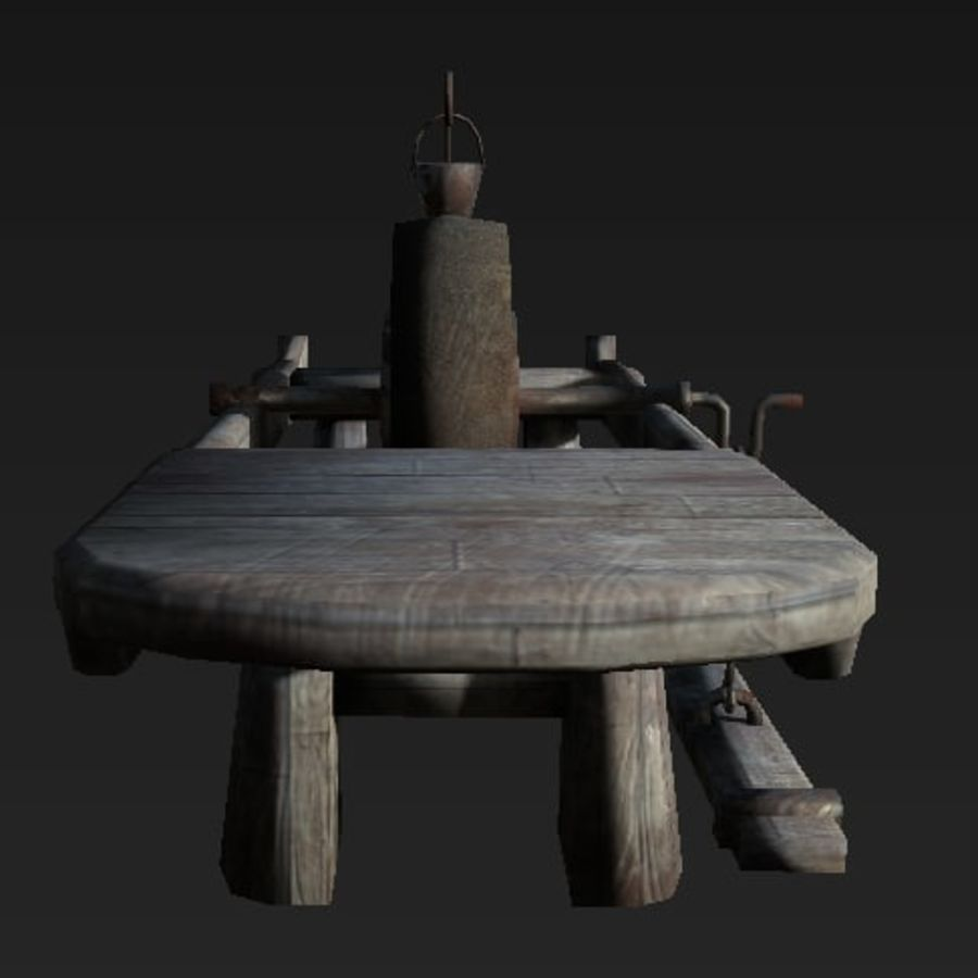 Fabbro Workstation royalty-free 3d model - Preview no. 2