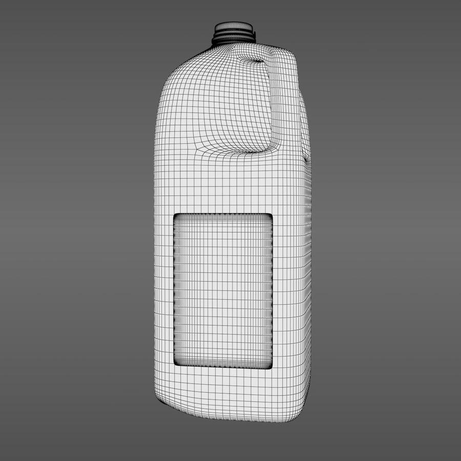 우유 주전자-반 갤런 royalty-free 3d model - Preview no. 8