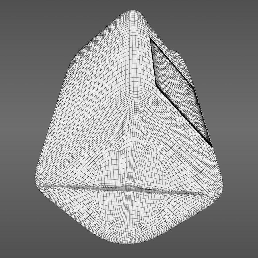 우유 주전자-반 갤런 royalty-free 3d model - Preview no. 12