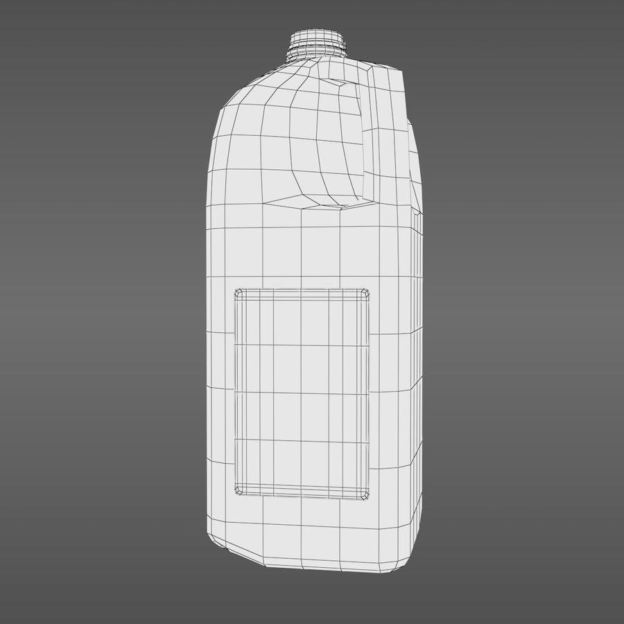 우유 주전자-반 갤런 royalty-free 3d model - Preview no. 9