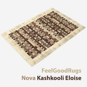 Modern carpet #15: Feelgoodrugs Nova Kashkooli Eloise brown rug 3d model