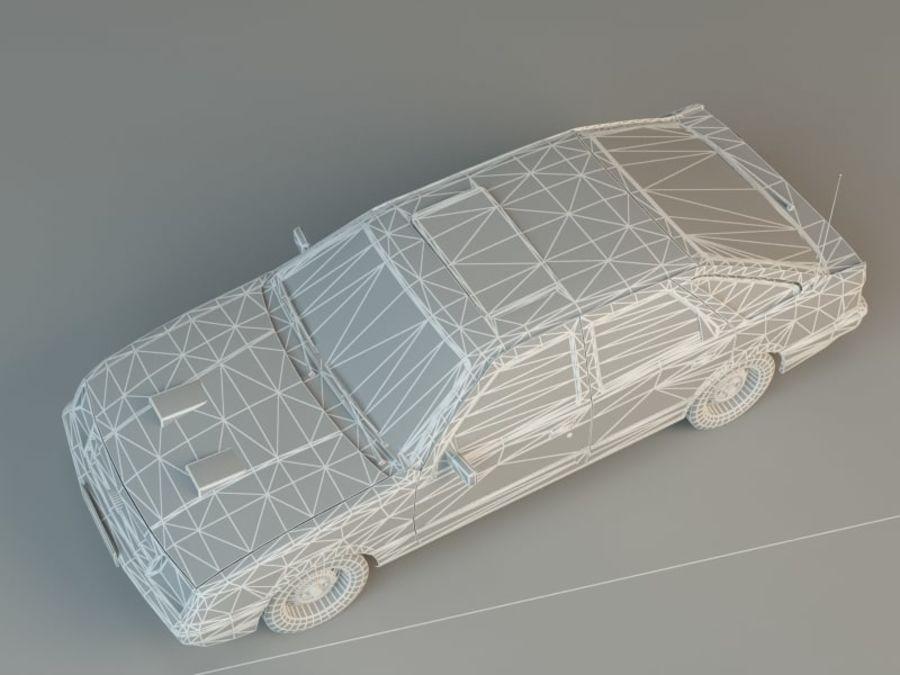 Niebieski samochód royalty-free 3d model - Preview no. 5