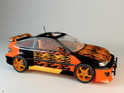 Carro esporte 3d model