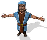 Clash of Clans Magician 3d model
