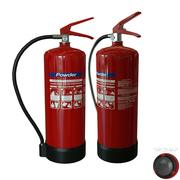 Fire Extinguisher (powder) 3d model