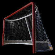 Rete da hockey 3d model
