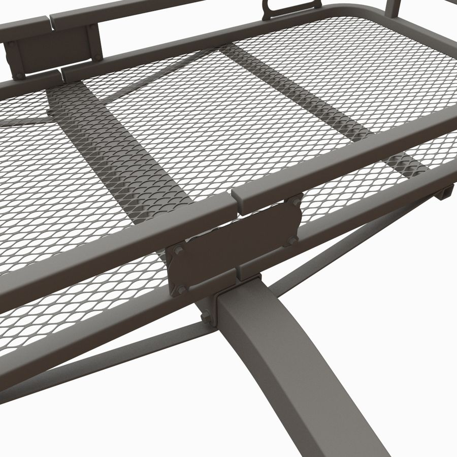 Car Cargo Basket royalty-free 3d model - Preview no. 7