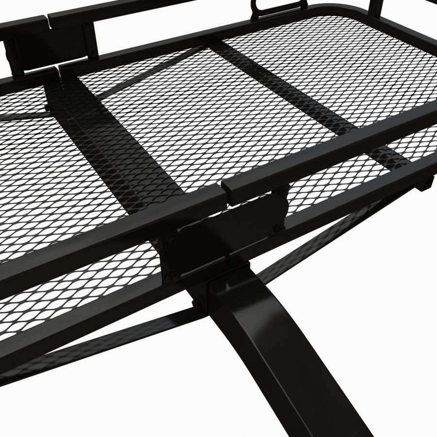 Car Cargo Basket royalty-free 3d model - Preview no. 2