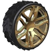 Hummer wheel 3d model