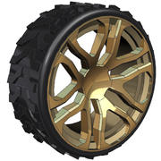 Hummer Rad 3d model