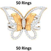 Pierścienie 50 3d model