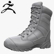 Original SWAT Tactical Boots Zbrush 3d model