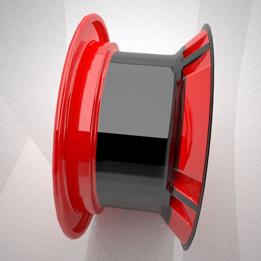 koło royalty-free 3d model - Preview no. 5