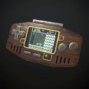 Handheld Game Console 3d model