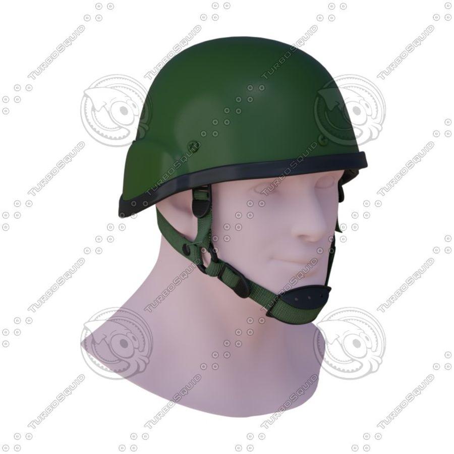 Assault helmet royalty-free 3d model - Preview no. 2