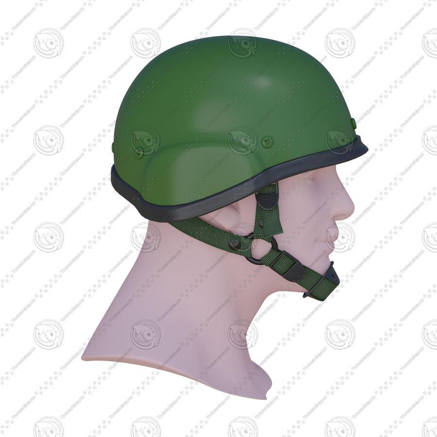 Assault helmet royalty-free 3d model - Preview no. 6