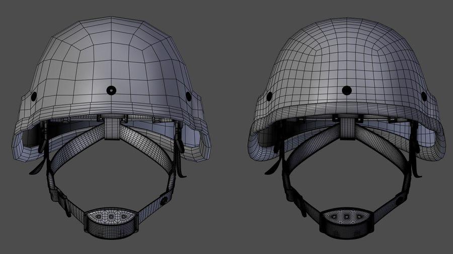 Saldırı kask royalty-free 3d model - Preview no. 7