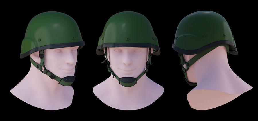 Assault helmet royalty-free 3d model - Preview no. 1