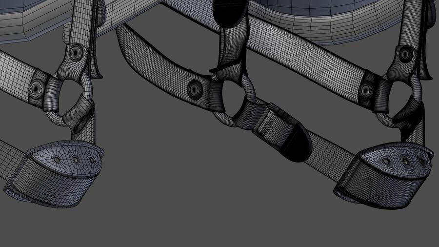 Assault helmet royalty-free 3d model - Preview no. 15