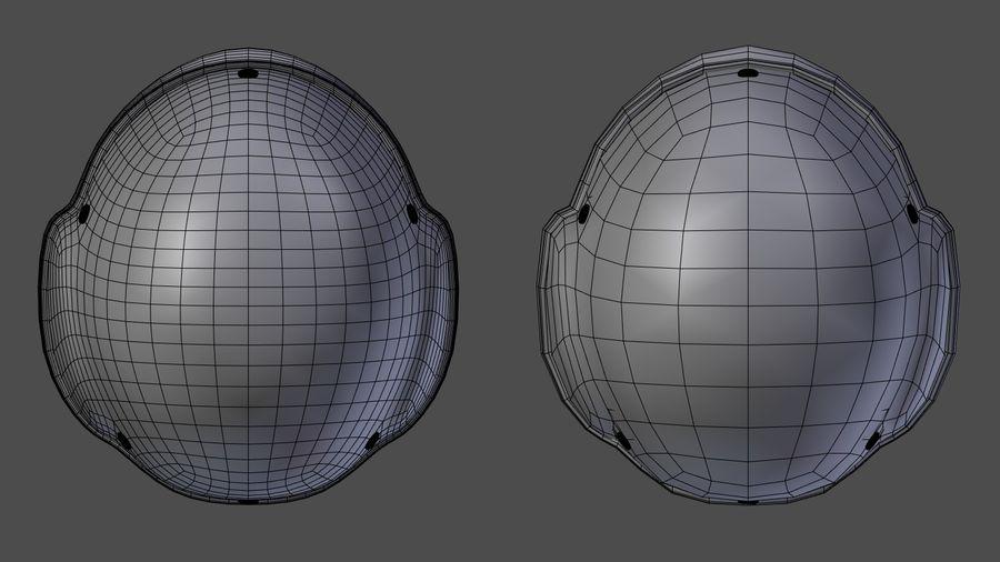 Saldırı kask royalty-free 3d model - Preview no. 14