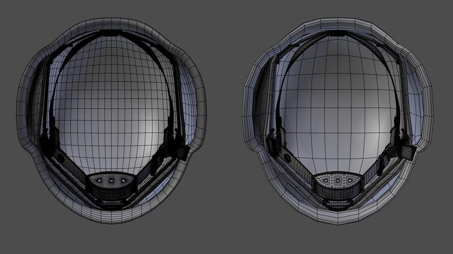 Assault helmet royalty-free 3d model - Preview no. 13