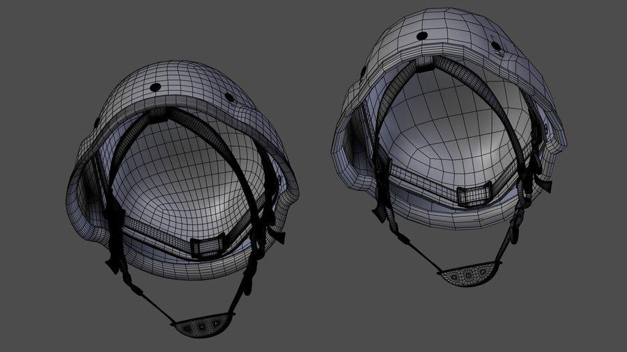Assault helmet royalty-free 3d model - Preview no. 12