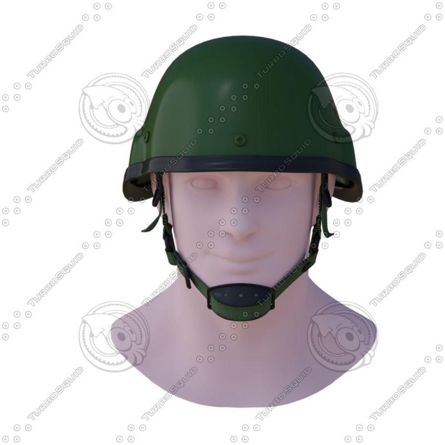 Assault helmet royalty-free 3d model - Preview no. 3