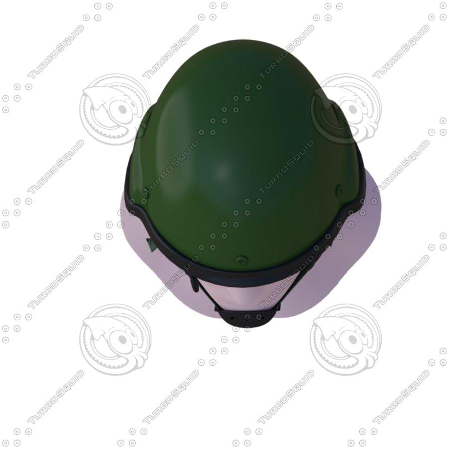 Assault helmet royalty-free 3d model - Preview no. 5
