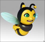 Pszczoła Cartoon 3d model